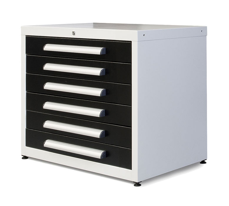6 Drawer Unit 1000mm Wide