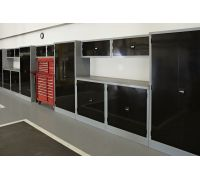 Overfinch Garage Cabinet Installation